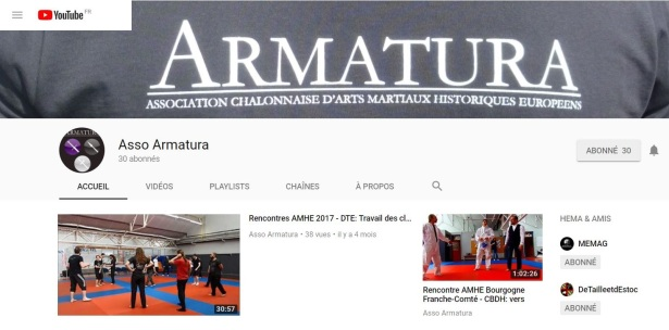 Youtube Armatura: https://www.youtube.com/channel/UC8d8zT-GxHJKWtQ4ZfUla1A